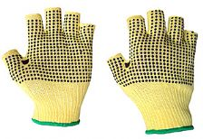 KFLGMWD KEVLAR FINGERLESS DOTTED GLOVE(Qty 10)